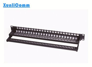 24 Port Network Patch Panel With Cable Management Quick Installation Design