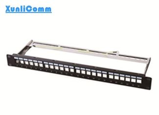 FTP Empty Patch Panel 1.5mm Thickness Metallic Frame Superior Performance